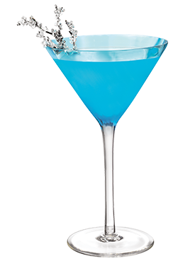 Sparkle tini Sparklelouder with Hpnotiq and Win a Trip to NYC for NYE