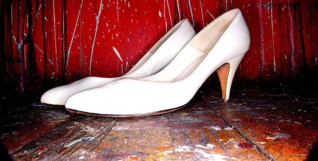 white-heel-shoes