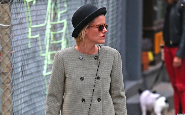Rachael Taylor Out For A Stroll In New York