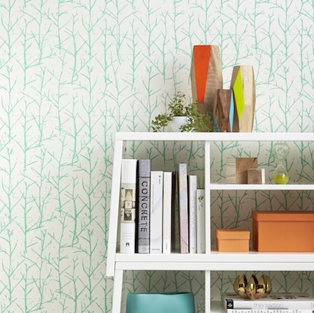 wallpaper4 Re vamp a Wall in Your Home with CB2s New Wallpaper Collection