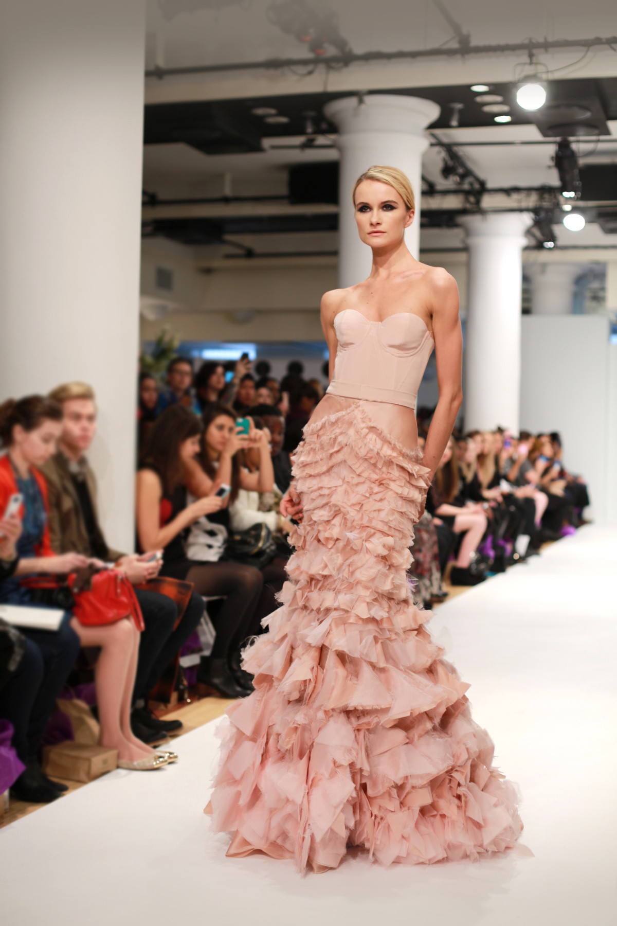 leanne marshall The 10 Prettiest Dresses at NYFW