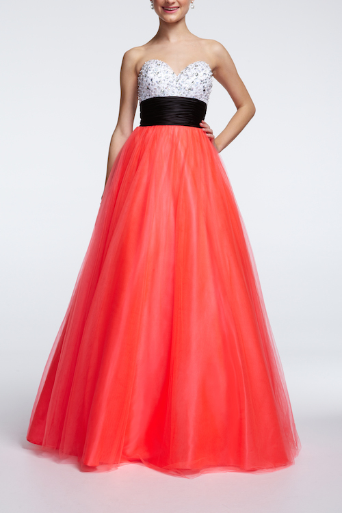 DB20 MCORALBLK SHA68152 The Go To Hues for Prom 2014