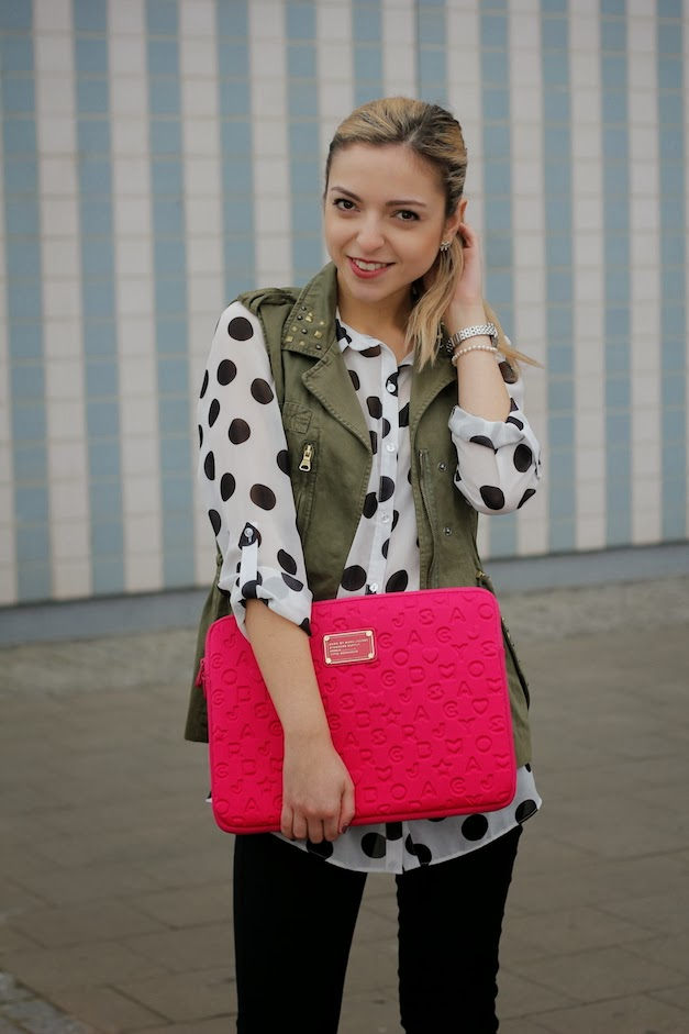 blogger dressvise Polka Dots as an Adult? Yes sir eee!