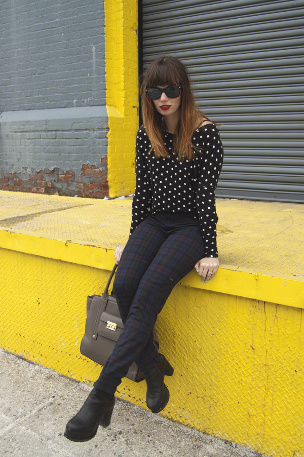 blogger fashionistanygirl Polka Dots as an Adult? Yes sir eee!