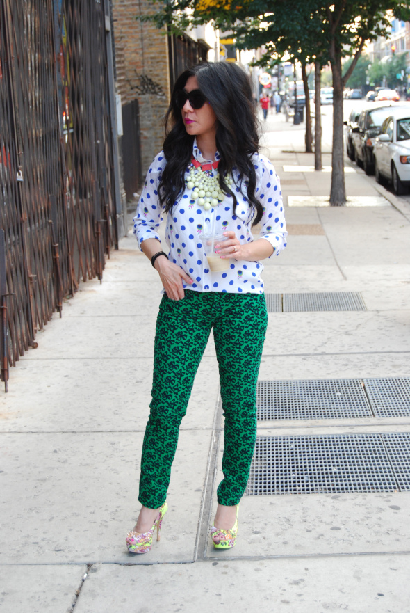 blogger veloria in velvet Polka Dots as an Adult? Yes sir eee!