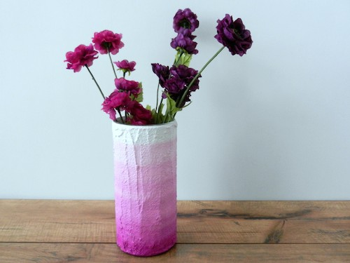 carriage oak cottage ombrepink vase brika1 Up Your Decor Cred with These 5 Pieces from BRIKA