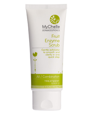 mychelle scrub Get Your Skin Ready for Summer with These 4 Exfoliators