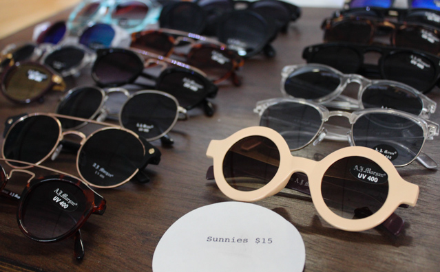 sunglasses thrift The Best Places to Go Thrift Shopping in Bushwick, Brooklyn