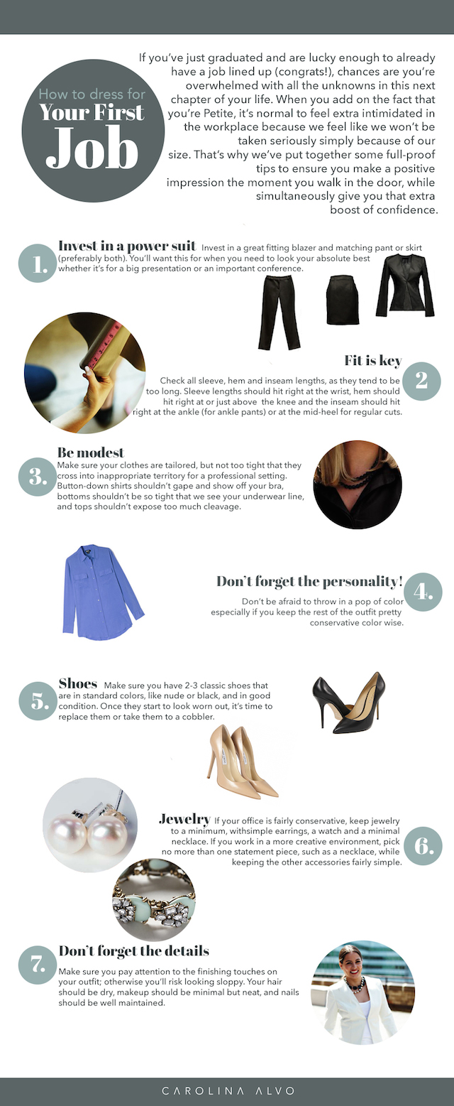 brokechic edit 11 Petite? Heres How to Dress for Your First Job