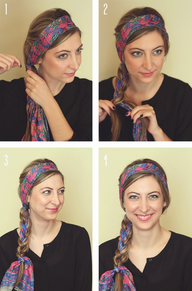 6 Different Ways To Wear A Head Scarf To Beat The Summer Heatbroke