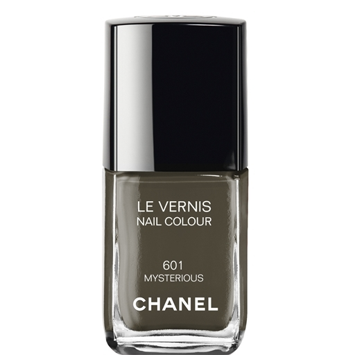 chanel mysterious polish olive green