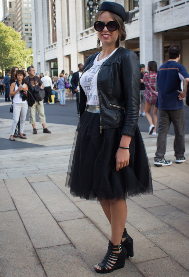 tulle 5 Our 9 Favorite Street Style Trends from New York Fashion Week