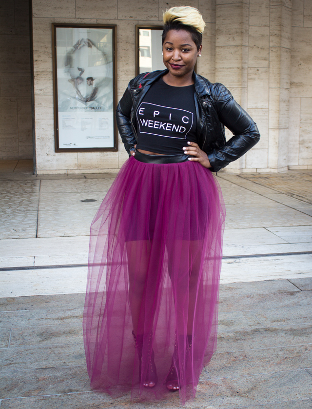 tulle skirt 4 Our 9 Favorite Street Style Trends from New York Fashion Week