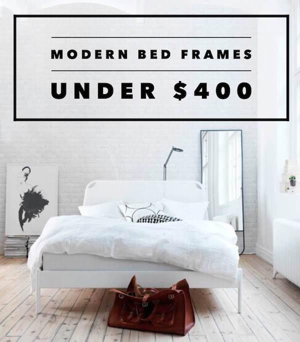 Comfort Design And Value Bed Frames Under 400Broke Chic