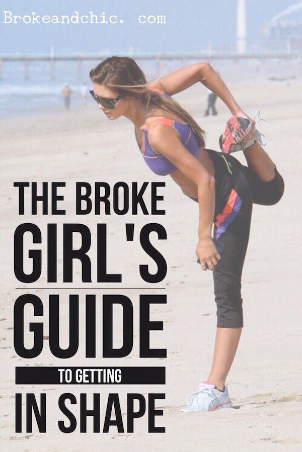 broke fitness pinterest The Broke Girls Guide to Getting in Shape