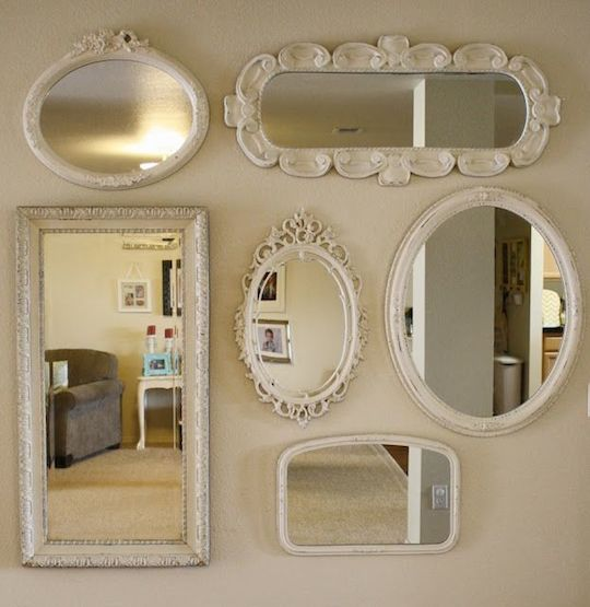 mirror collage2 The 5 Easiest Ways to Upgrade Your Apartment This Fall