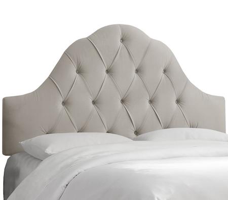 overstock upholstered bed frame