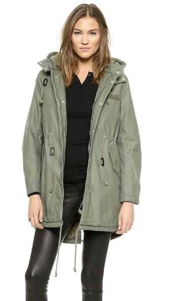 parka cheap monday shopbop 9 Badass Things Your Fall Wardrobe Needs