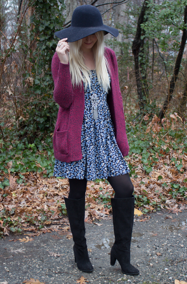 4 Different Ways to Wear a Sundress This Winter