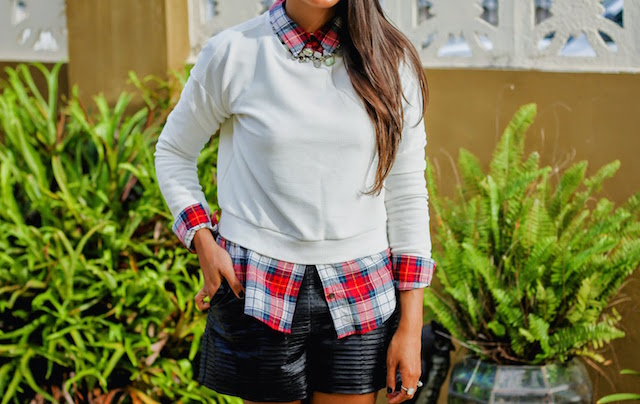 5 Different Ways to Wear a Plaid Shirt