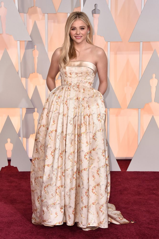 Chloe Grace Moretz at the Oscars