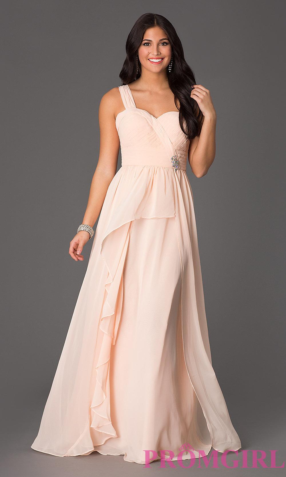 Similar to Zoe Saldana's 2015 Oscar dress // www.brokeandchic.com