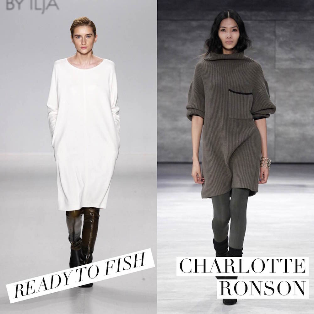 Runway to Real Way: Survive the Polar Vortex in Style with a Sweater Dress