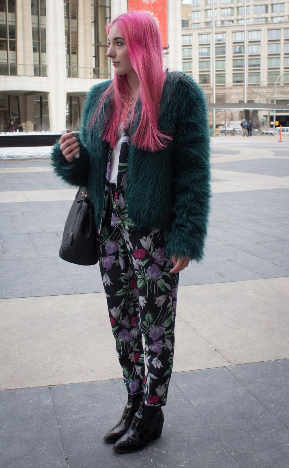 Pink hair // www.brokeandchic.com