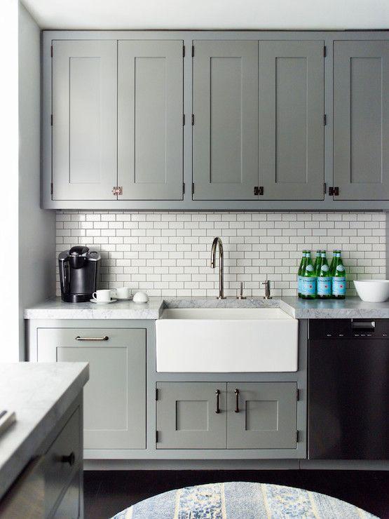 Grey kitchen!