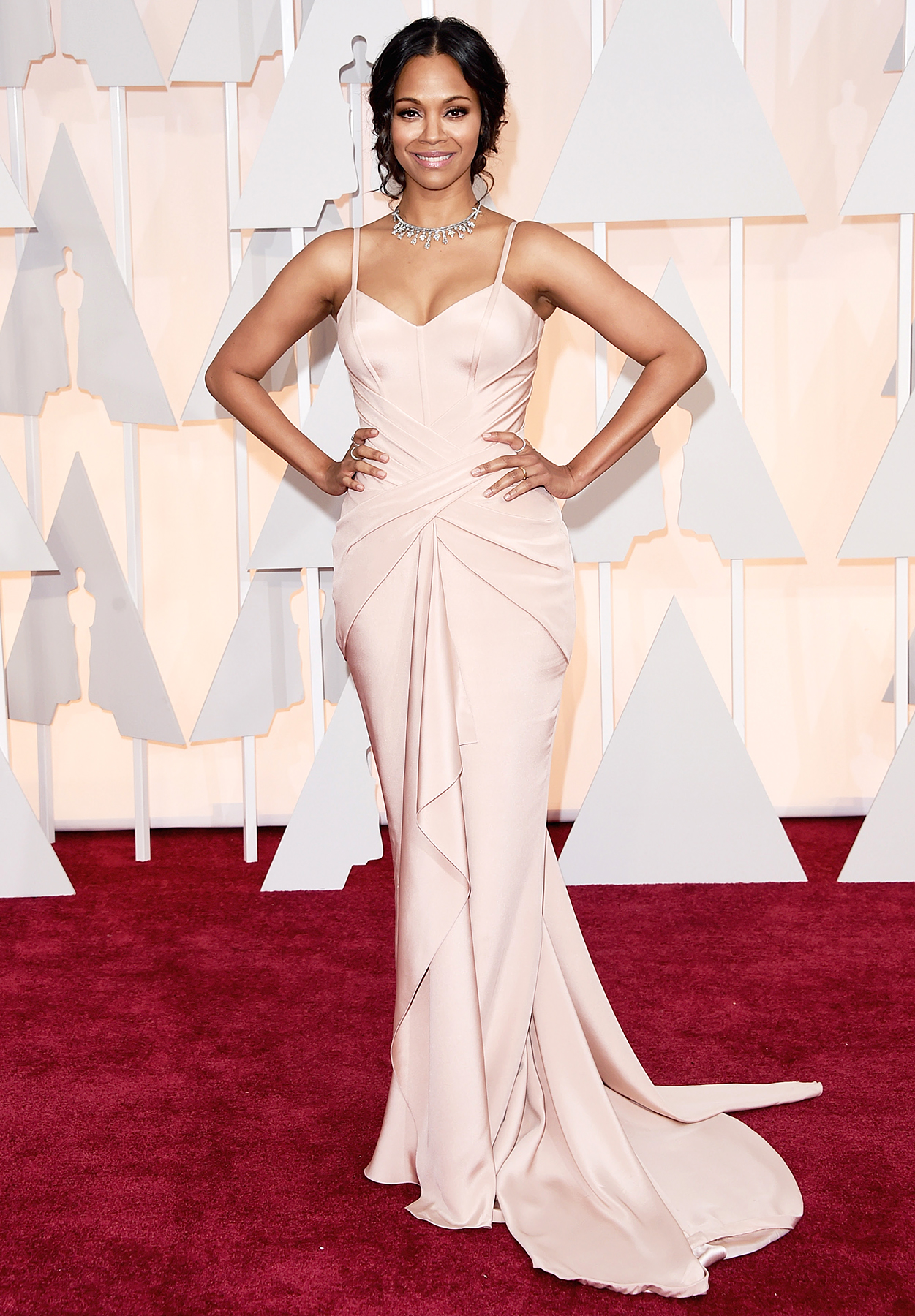 Zoe Saldana at the Oscars!