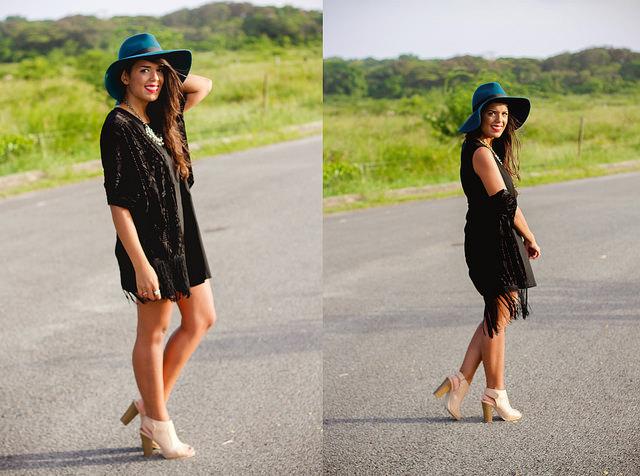 Kimonos + Hats!