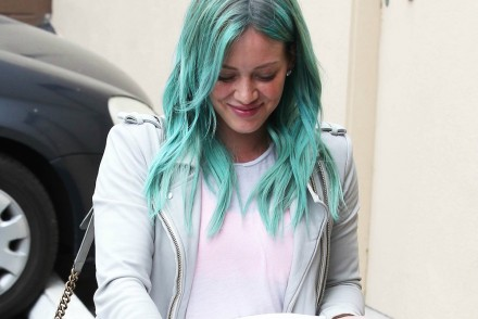 Hilary Duff went green!
