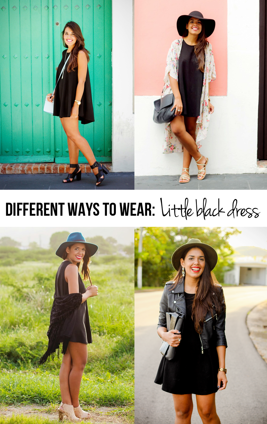 4 Different Ways to Wear a LBD