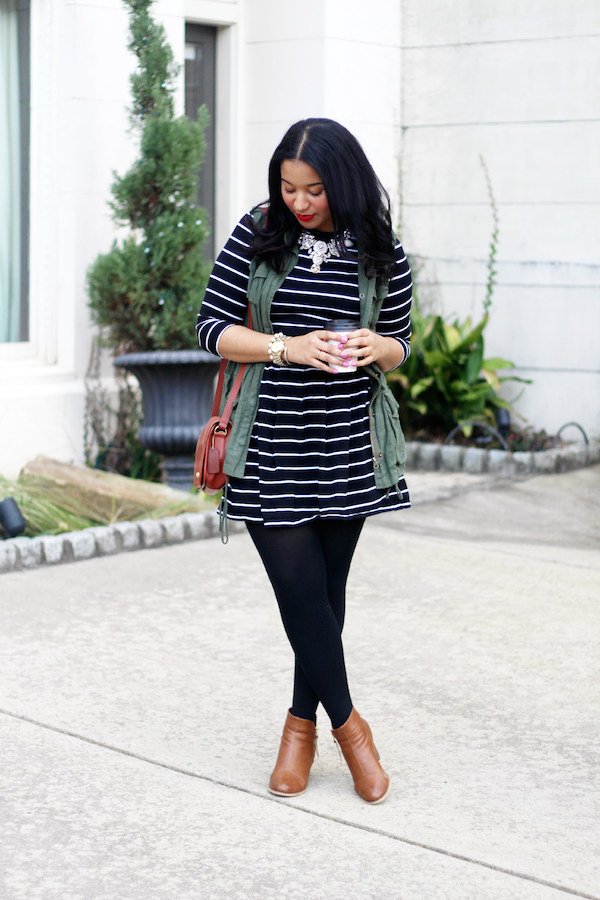 Spring outfit inspiration // www.brokeandchic.com