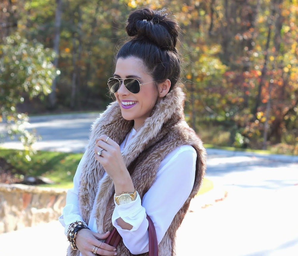 48fedc1f032151 5 Different Ways to Style a Vest This Spring - Broke and ChicBroke ...