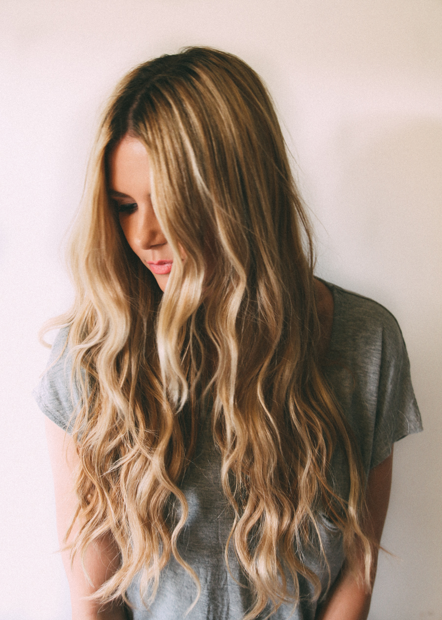 Boho Chic Waves  on Barefoot Blonde // brokeandchic.com