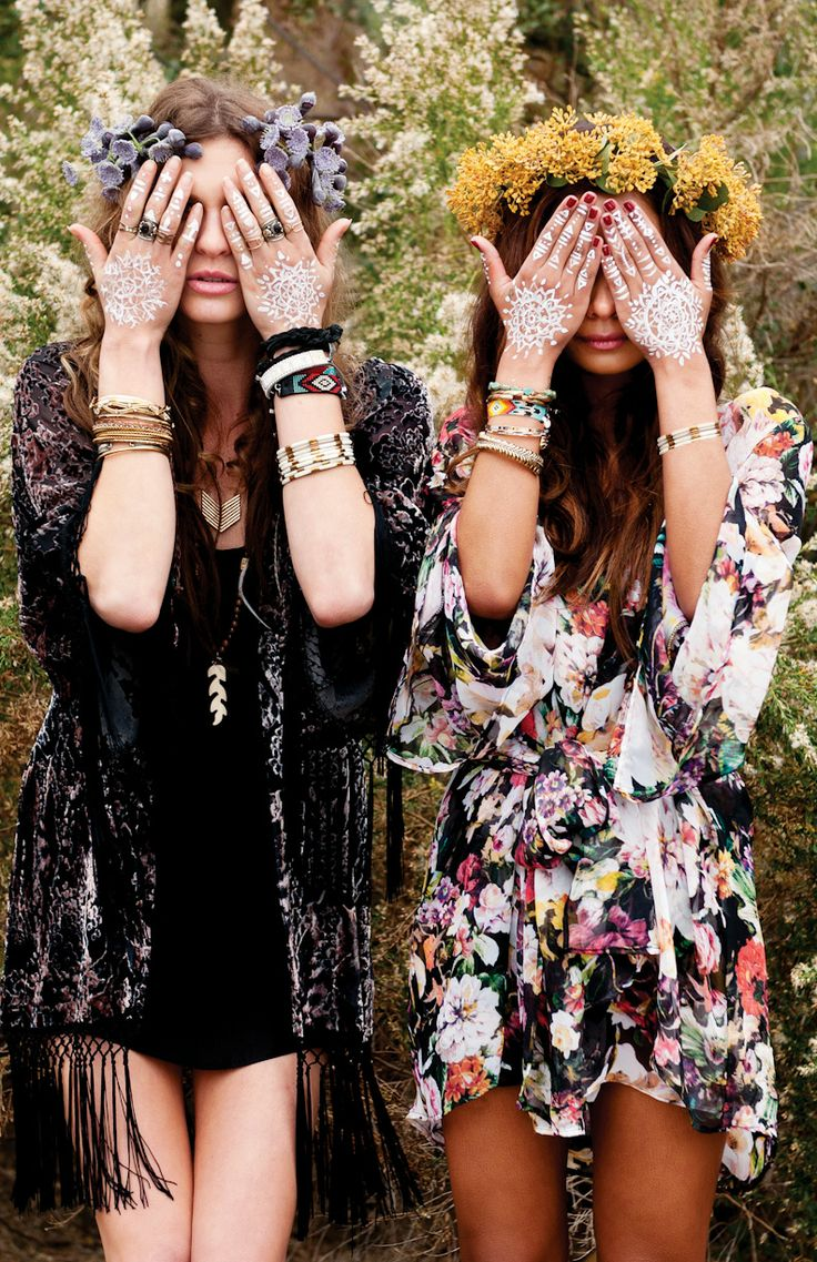Lovely festival fashion // www.brokeandchic.com