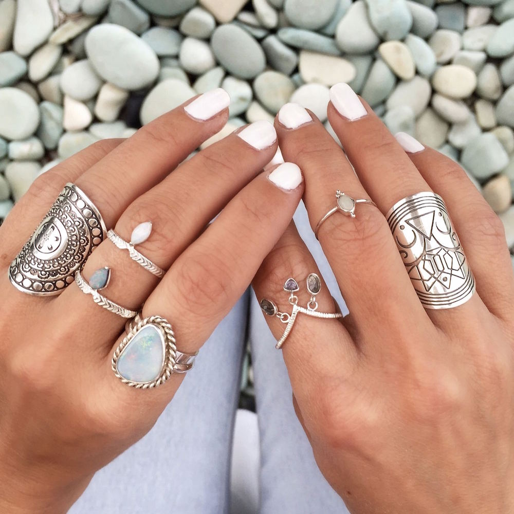 Boho luxe jewelry