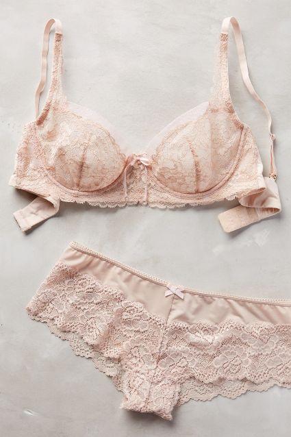 Blush pink lingerie!
