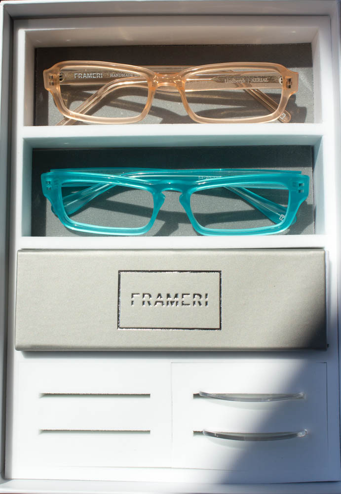 Update Your Look with Frameri, the Eyeglasses with Swappable Lenses