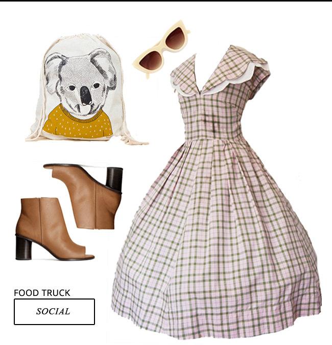 Vintage-y outfit idea!