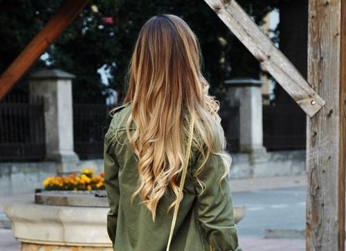 Stunning blonde balayage