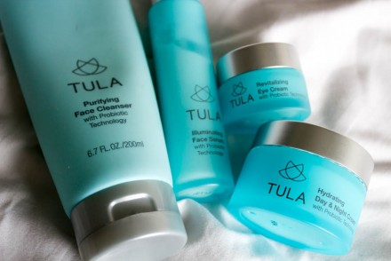 Review: Tula's Probiotic Skin Care Line // www.brokeandchic.com