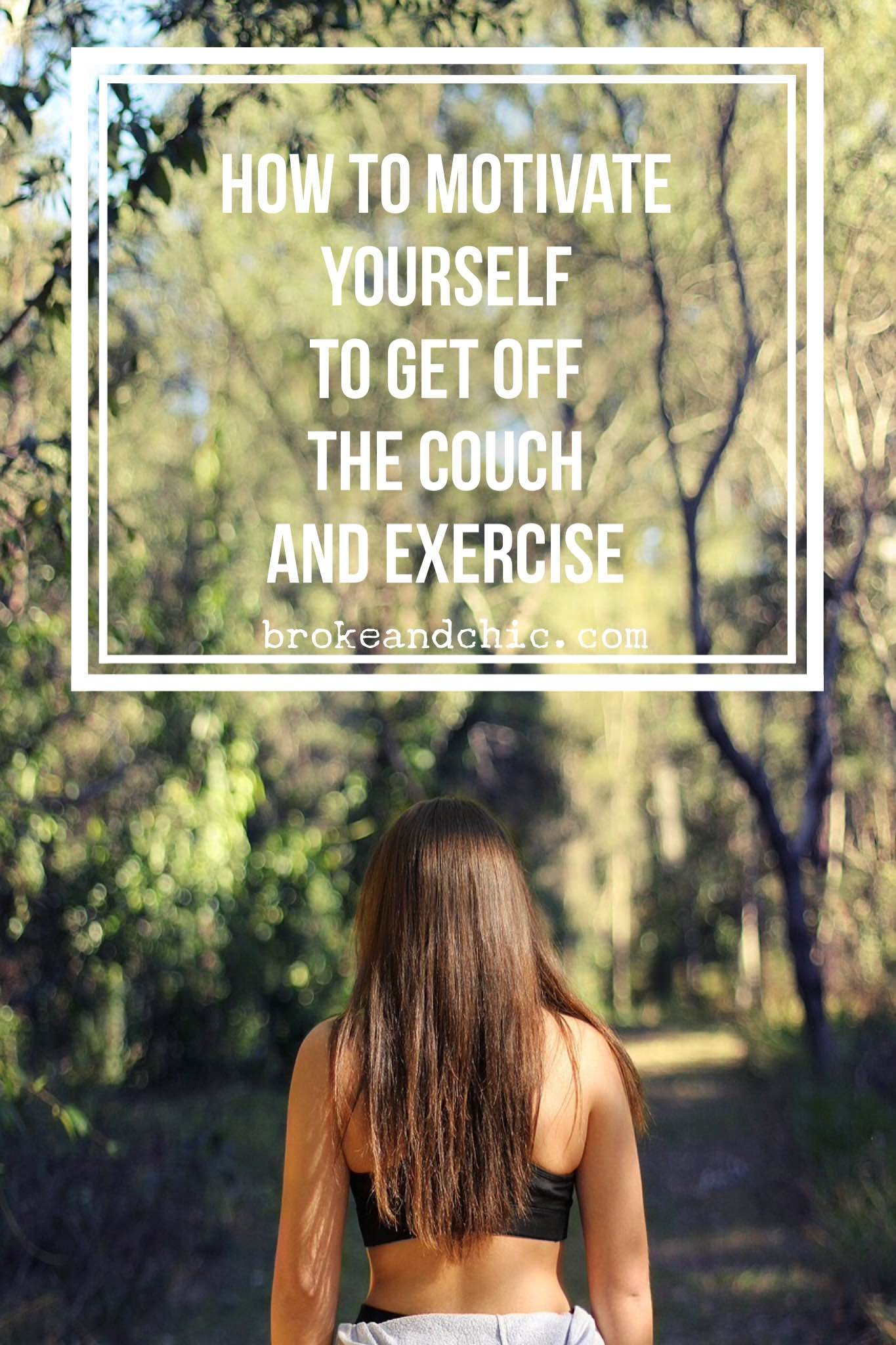 Get Off The Couch And Start Exercising Again Before It Is Too Late // www.brokeandchic.ciom