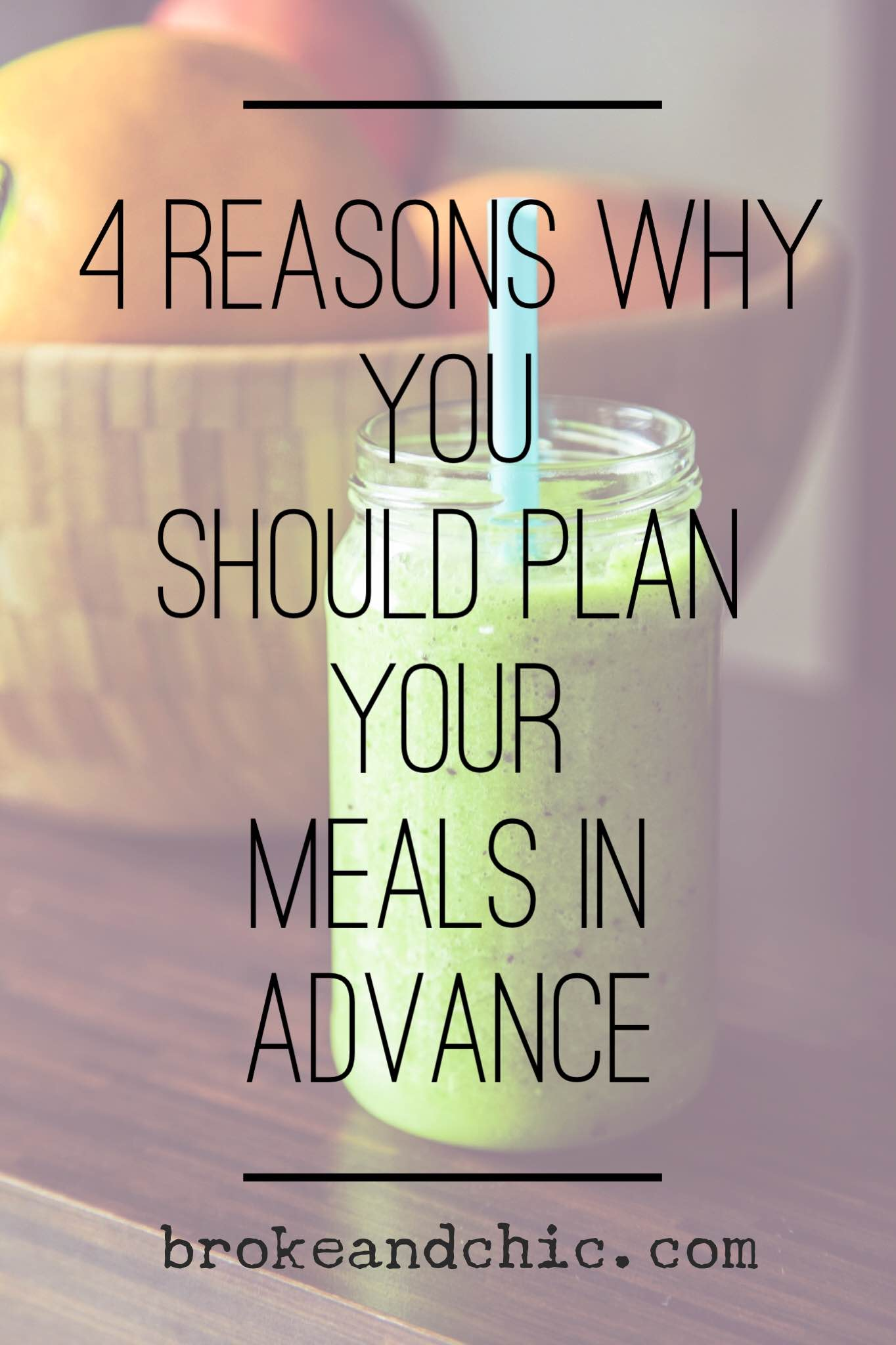 Meal Planning 101 // www.brokeandchic.com