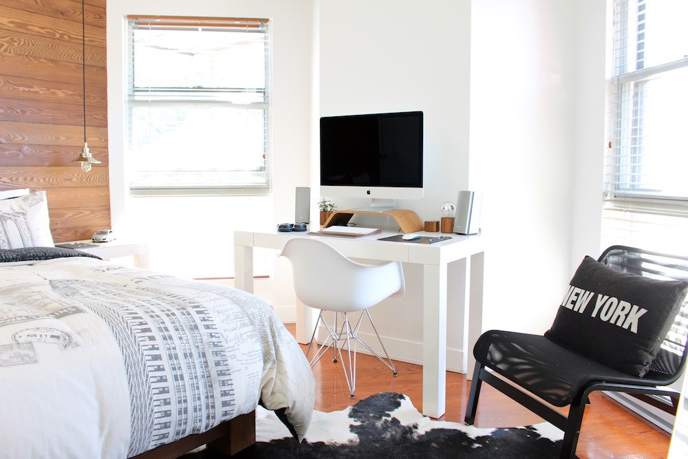 7 Simple, Stylish Solutions to Revitalize Your Apartment // www.brokeandchic.com