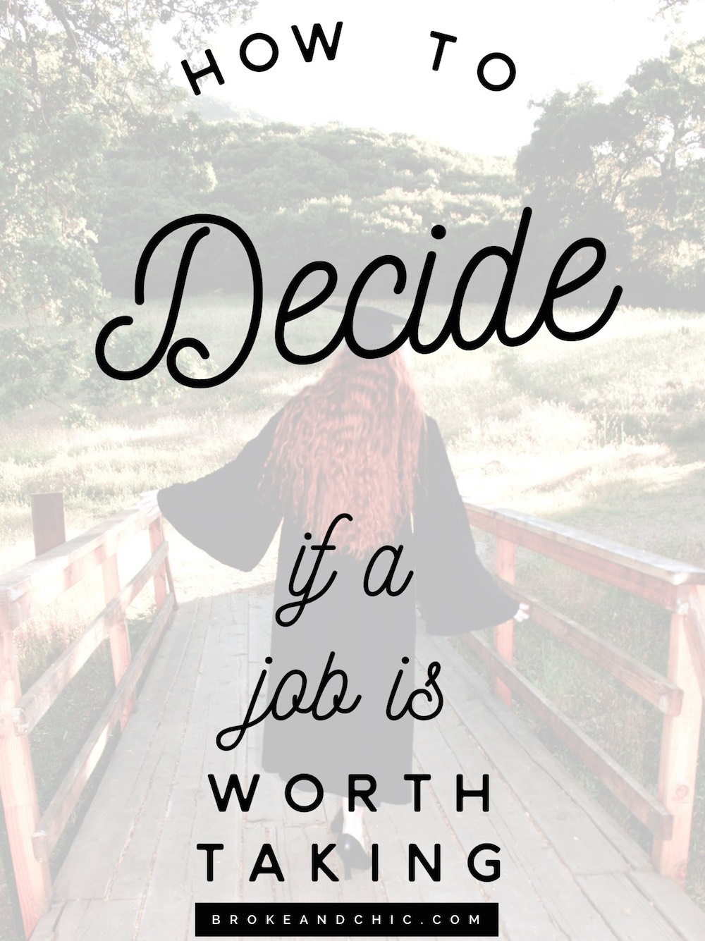 Career Advice: How to Decide If a Job Is Worth Taking
