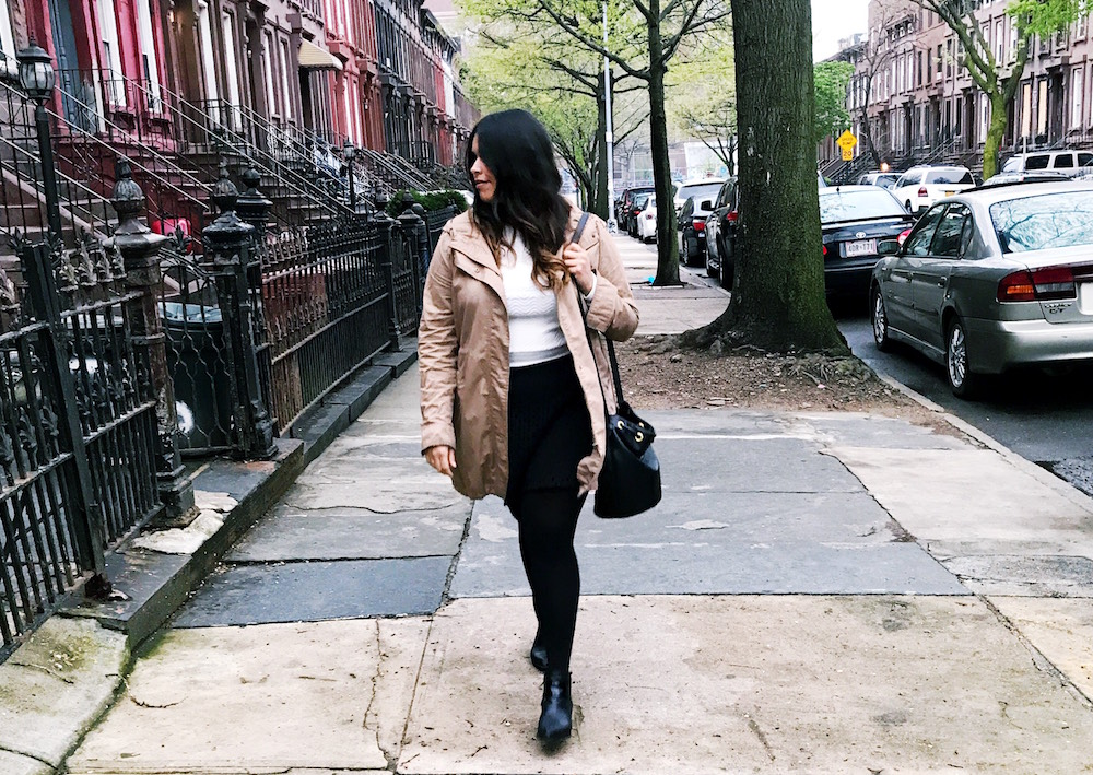 Broke Fashion: Just Trying to Get Through the April Showers // brokeandchic.com