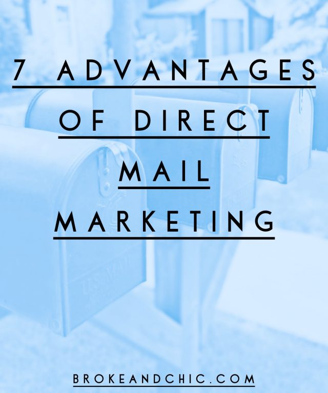 7 Advantages of Direct Mail Marketing