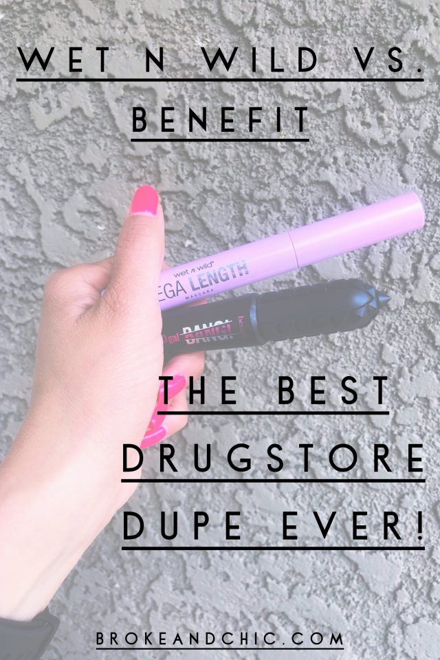 This Is the Best Dupe for Benefit's BADgal BANG! Volumizing Mascara